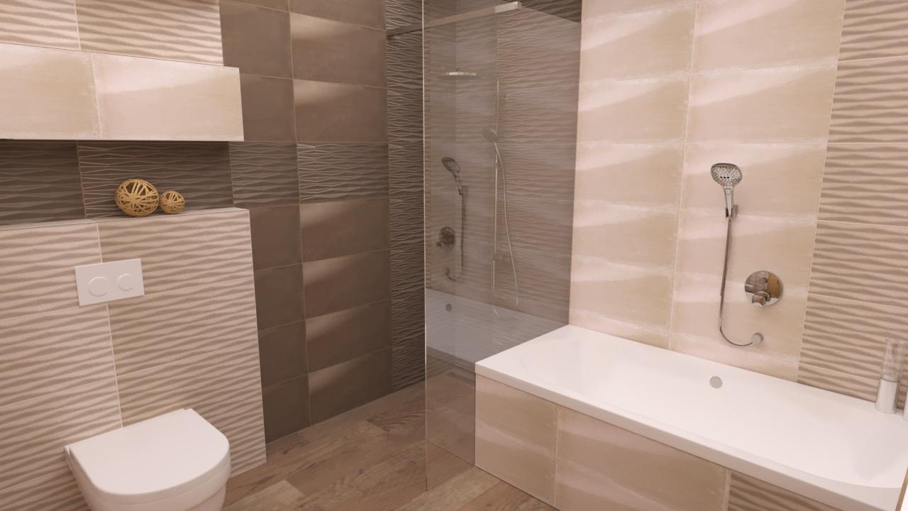 Elkészült egy újabb fürdőszoba - Megyeri Éva - lakberendező, Szeged